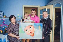 portrait10 - Фото на холсте в Новосибирске