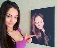 portrait4 - Фото на холсте в Новосибирске